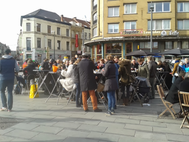 Flagey Market Brussels