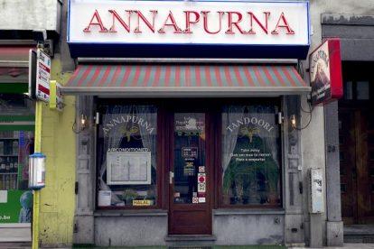 Indian restaurant Annapurna Brussels