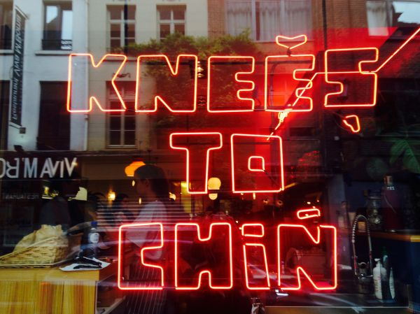 Knees to Chin Brussels