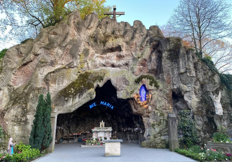 Lourdes Grotto Brussels