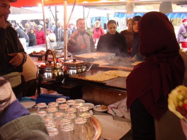 Moroccan pancakes Brussels
