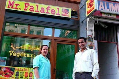 Mr Falafel-snackbar Brussels