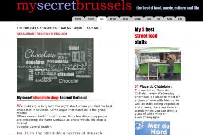 My Secret Brussels