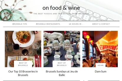 On Food & Wine Brussels