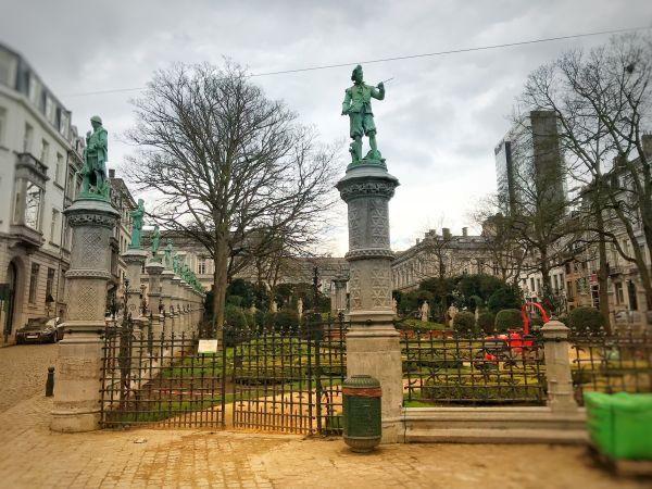 Places du Grand et Petit Sablon Brussels