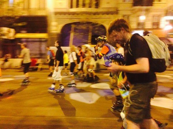 Roller Bike Parade Brussels