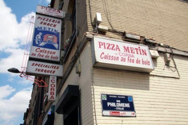 Turkish Pizza street Brussels
