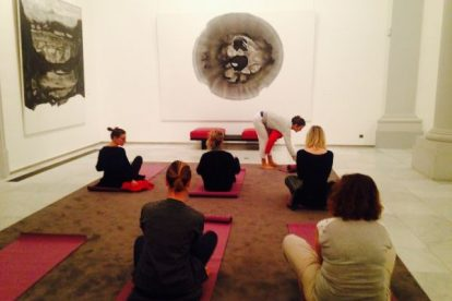 Yoga in the Museum Brussels