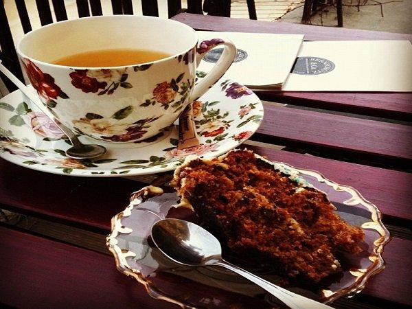 Bernschutz Teahouse Bucharest