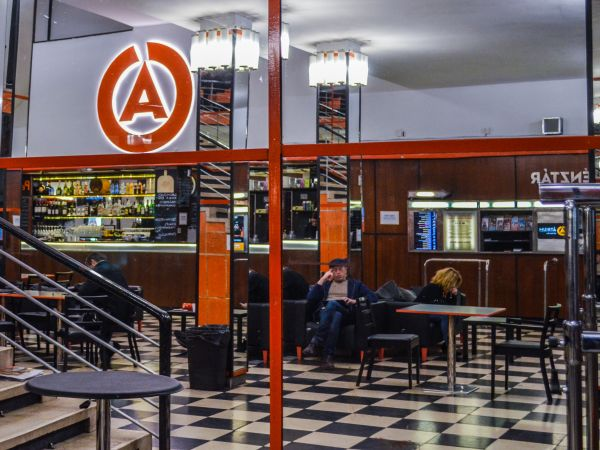 Átrium Filmszínház – A theater in a Bauhaus cinema