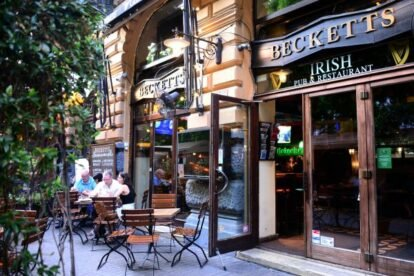 Becketts Irish Bar – The Irish heart of Budapest