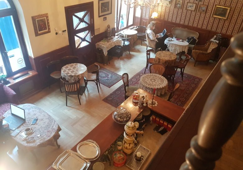 Café Zsivágó Budapest