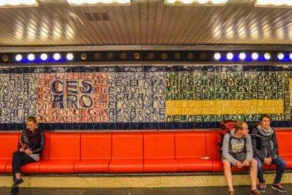 Deák Ferenc Tér Metro Station 3 Budapest