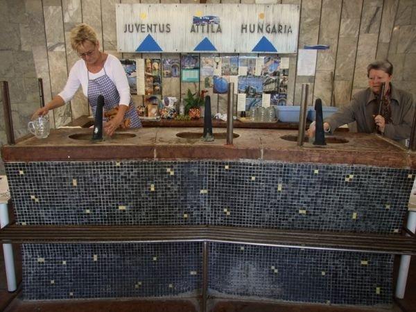 Ivócsarnok – Water, we got
