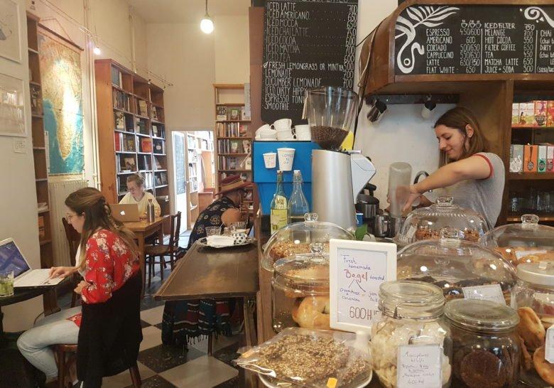 Massolit Books & Café Budapest