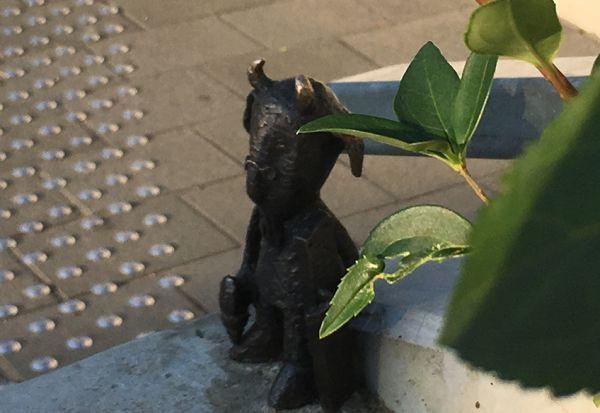 Mekk Elek statue Budapest