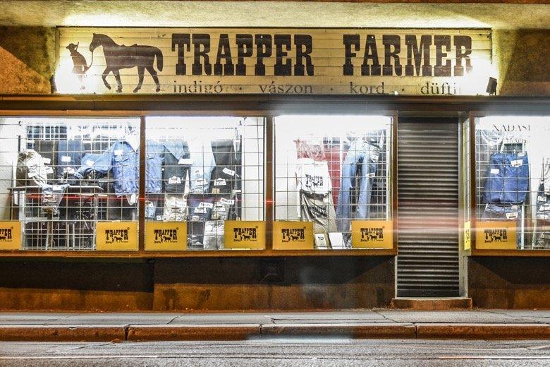 Trapper Farmer Budapest