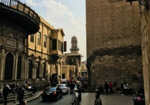 Bayn Al Qasrayn Street Cairo