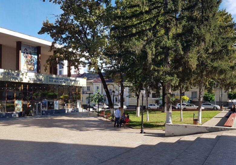 Cehov Square Chisinau