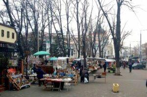 Eminescu Square Chisinau