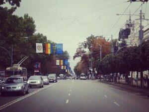 Stefan cel Mare Boulevard Chisinau