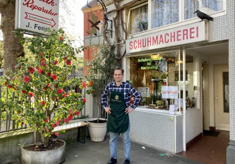 My Shoemaker in Riehl Cologne
