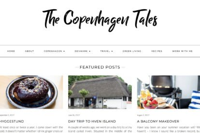 The Copenhagen Tales blogs
