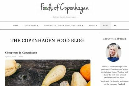 Foods of Copenhagen blogs