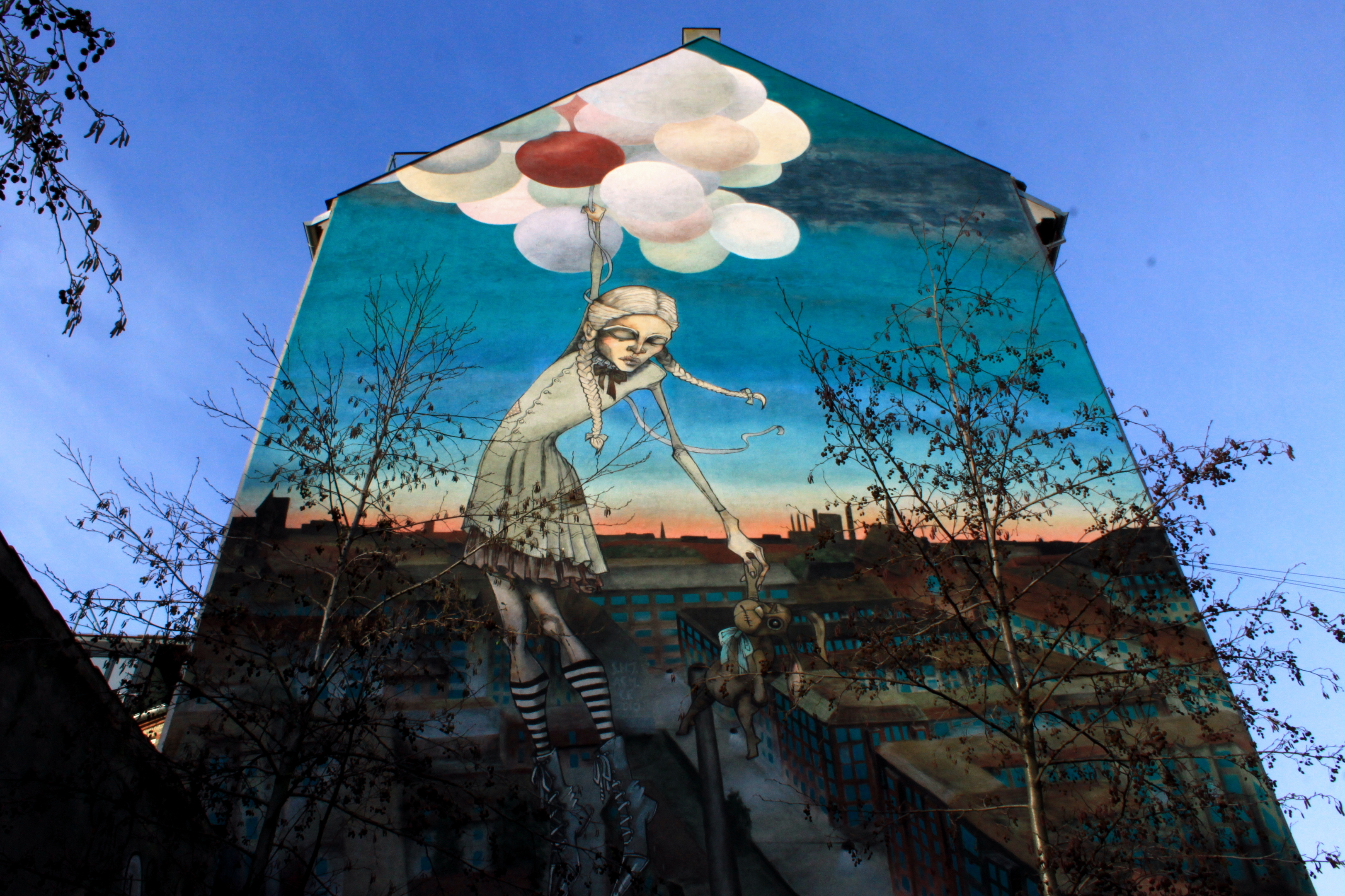The Great Escape A Mural Copenhagen Tips By Locals