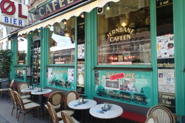 Jernbane Café Copenhagen