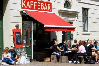 Røde Roses Kaffebar Copenhagen