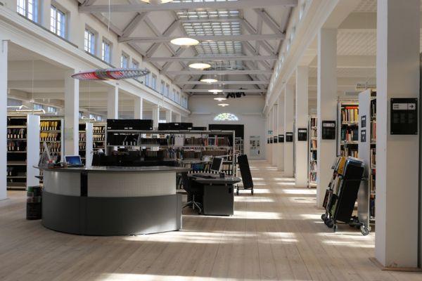 The KADK Library Copenhagen