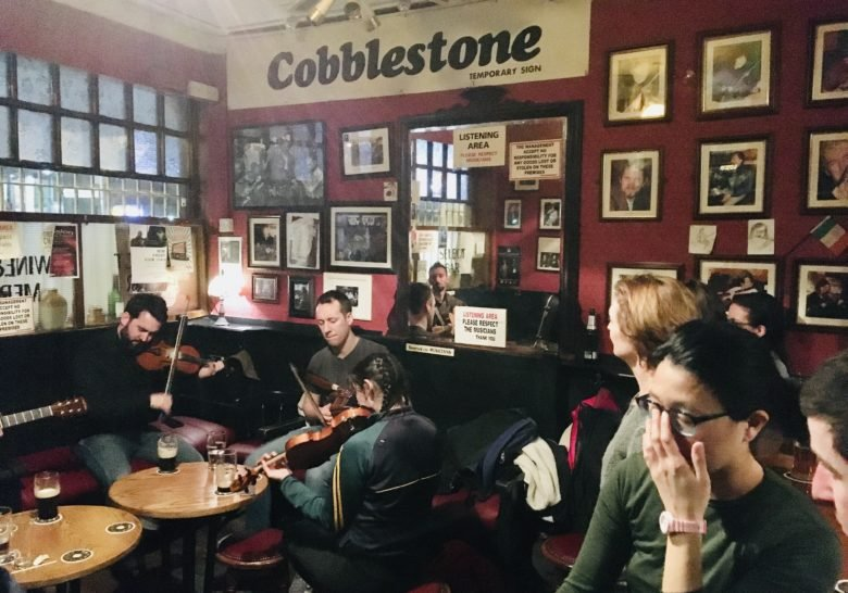 The Cobblestone – Drinking pub with a music problem