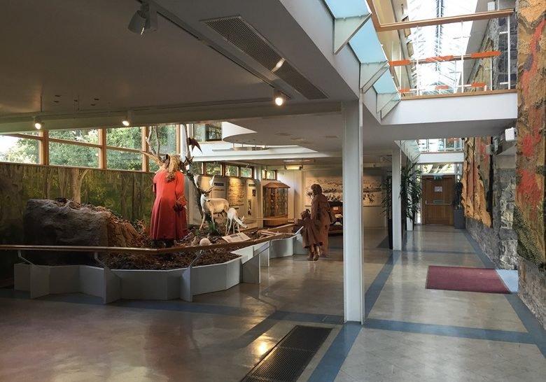 Visitor Centre of Phoenix Park Dublin