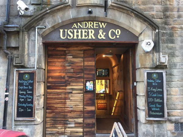 Andrew Usher & Co Edinburgh