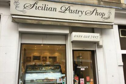 Sicialian Pastry Shop Edinburgh