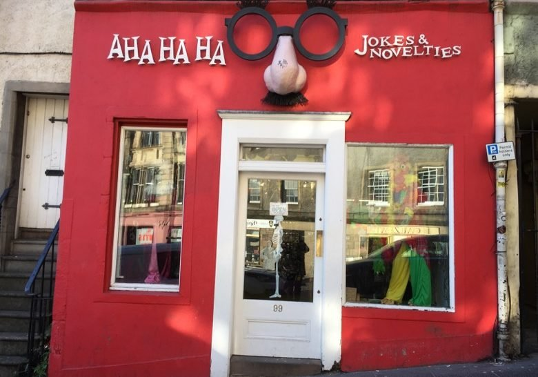 Aha Ha Ha Edinburgh
