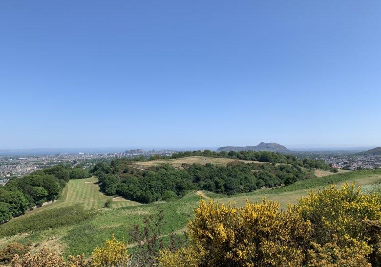 Craiglockhart Hill Edinburgh