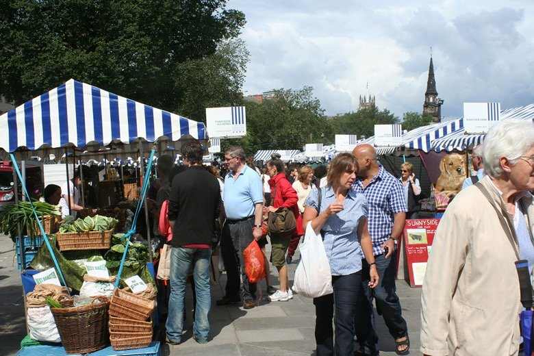 Edinburgh Farmers' Market Edinburgh