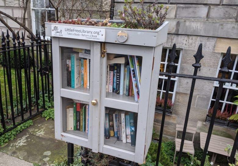 Little Free Library Edinburgh