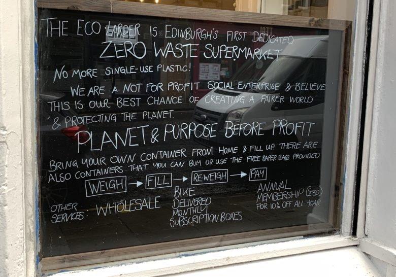 The Eco Larder Edinburgh