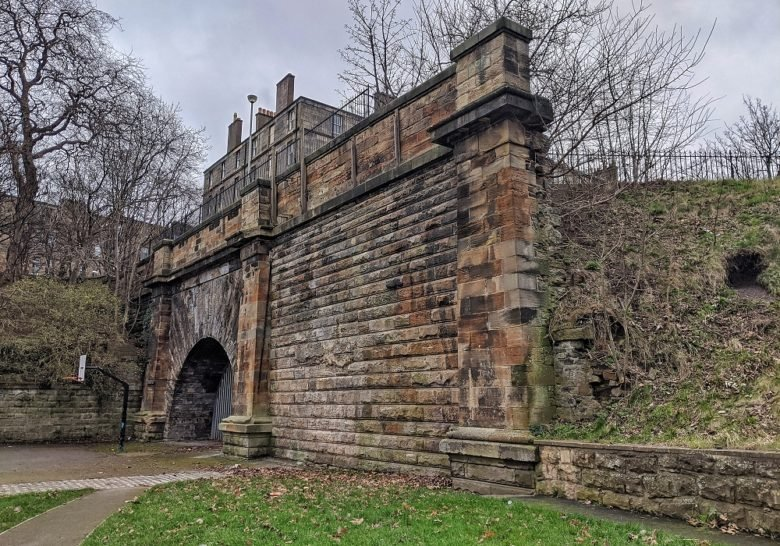 The Forgotten Railway Tunnel Edinburgh