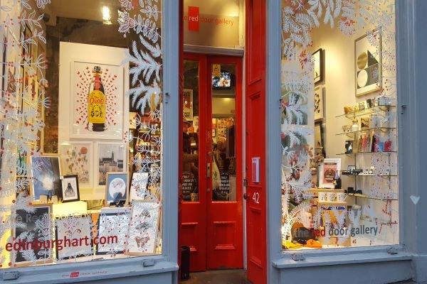 The Red Door Gallery Edinburgh