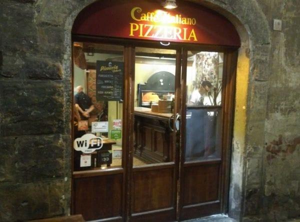Pizzeria del Caffè Italiano Florence