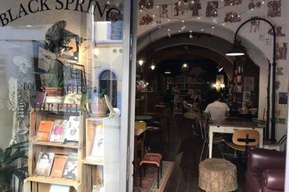 Black Spring Bookshop Florence