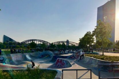 Hafenpark – Public spot for sports and relaxation