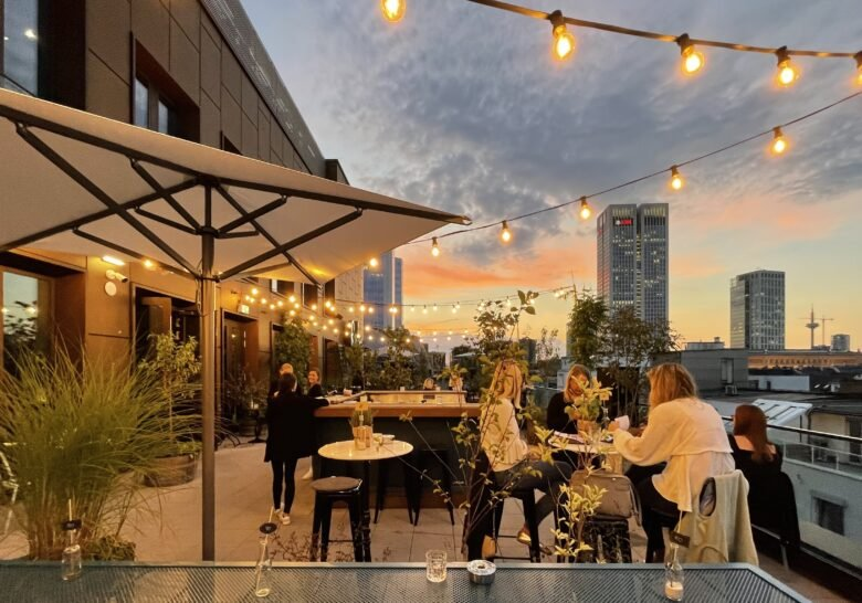Ruby Louise Rooftop Bar Frankfurt