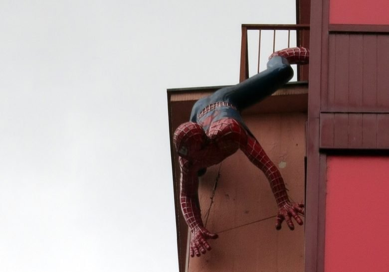 Spiderman Frankfurt