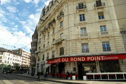 Café du Rond Point – Heart of Geneva