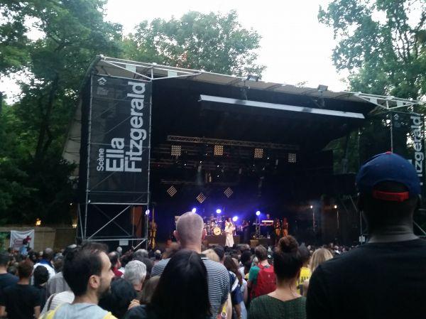 Ella Fitzgerald stage Geneva